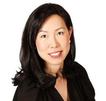 Head and shoulders portrait of Michelle Lew